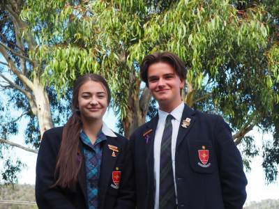 MacKillop Catholic College students